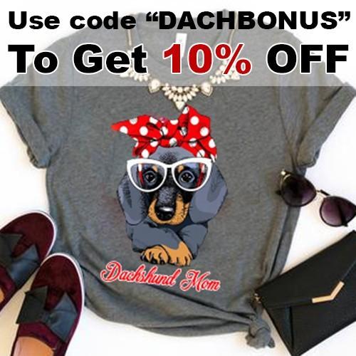 tee shirt for dachshund mom